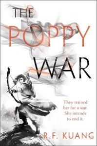 The Poppy War cover by RF Kuang