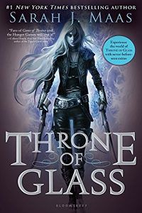 Throne of Glass cover by Sarah J Maas