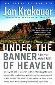 Under the Banner of Heaven Jon Krakauer Cover