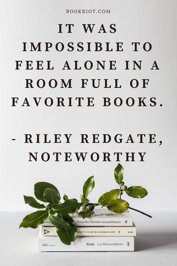YA Quotes About Reading - Riley Redgate