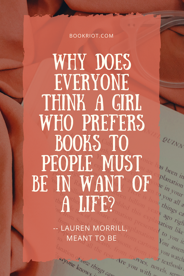 Ya Quotes About Reading And The Book Life That Are Brilliant And True