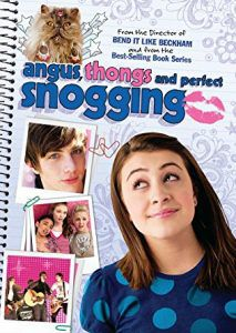 angus thongs and perfect snogging movie poster