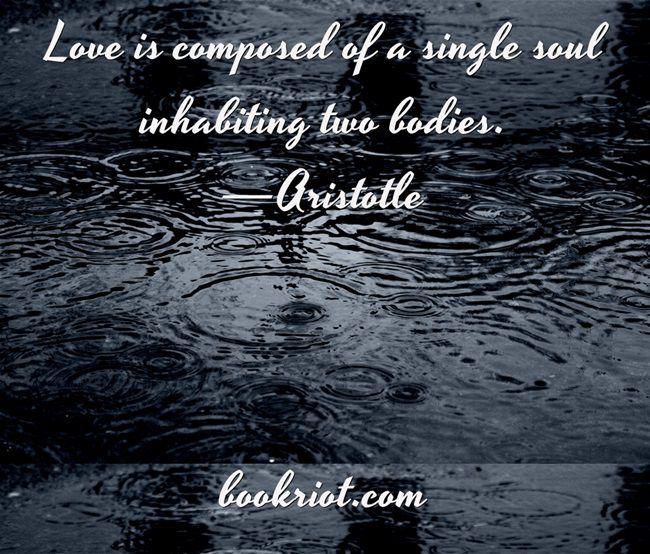 aristotle wedding quote bookriot