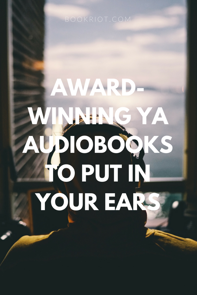 Award-winning YA audiobooks