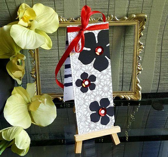 Baroque Flower Magnetic Bookmark