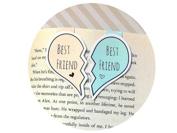Best Friend Magnetic Bookmarks