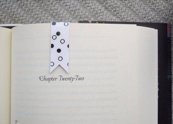 polka dot bookmark