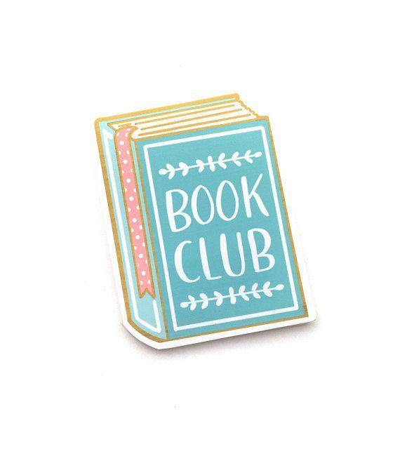 book club magnetic bookmark