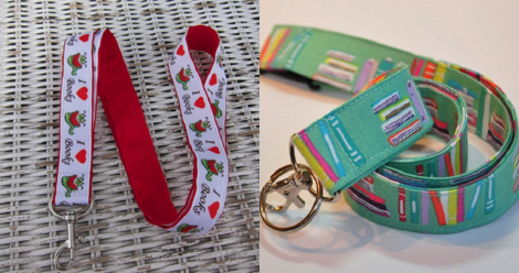 bookish lanyards