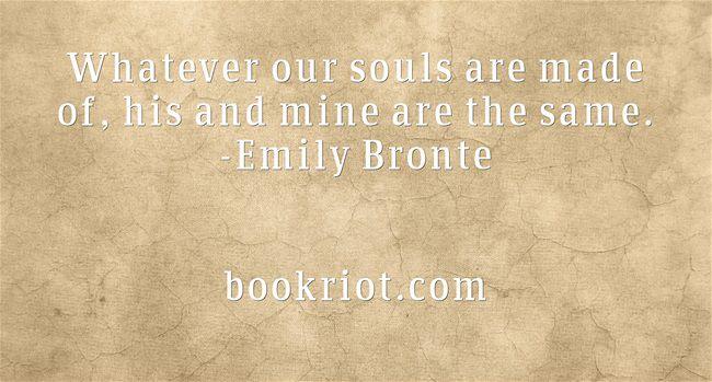 Bronte wedding quote bookriot