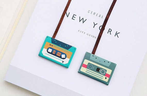 Cassette Tape Magnetic Bookmarks