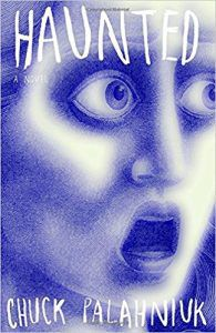chuck palahniuk haunted cover psychological horror books