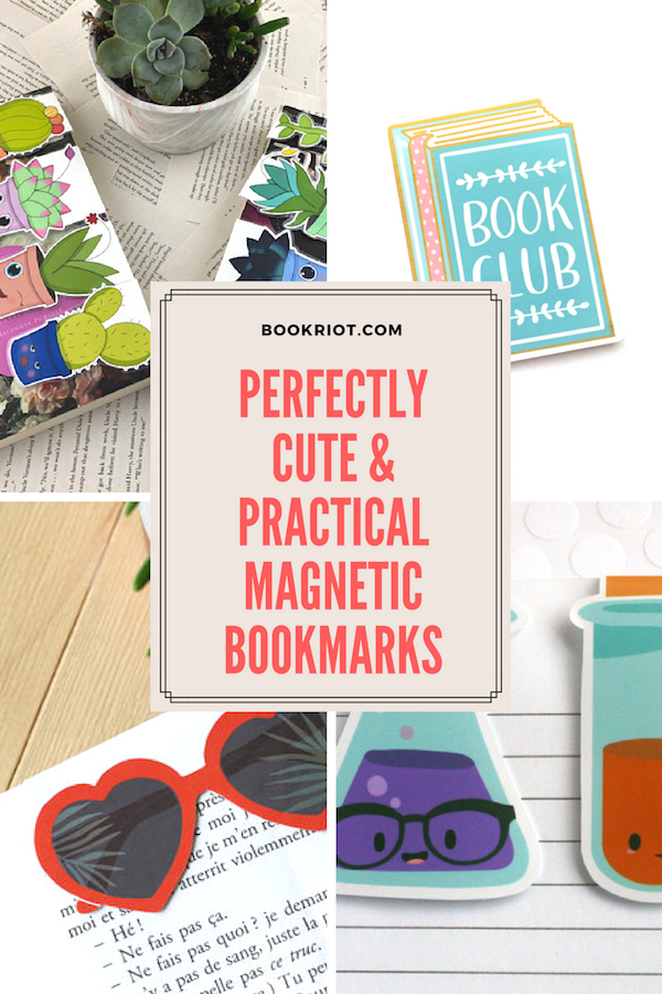 Awesome magnetic bookmarks