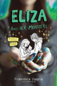 Eliza and Her Monsters by Francesca Zappia book cover ya books about anxiety