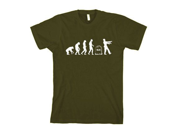 evolution of life t-shirt