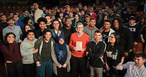 Bill Gates gifts Factfulness to US College graduates