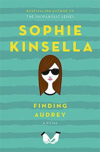 finding audrey by sophie kinsella book cover ya books about social anxiety