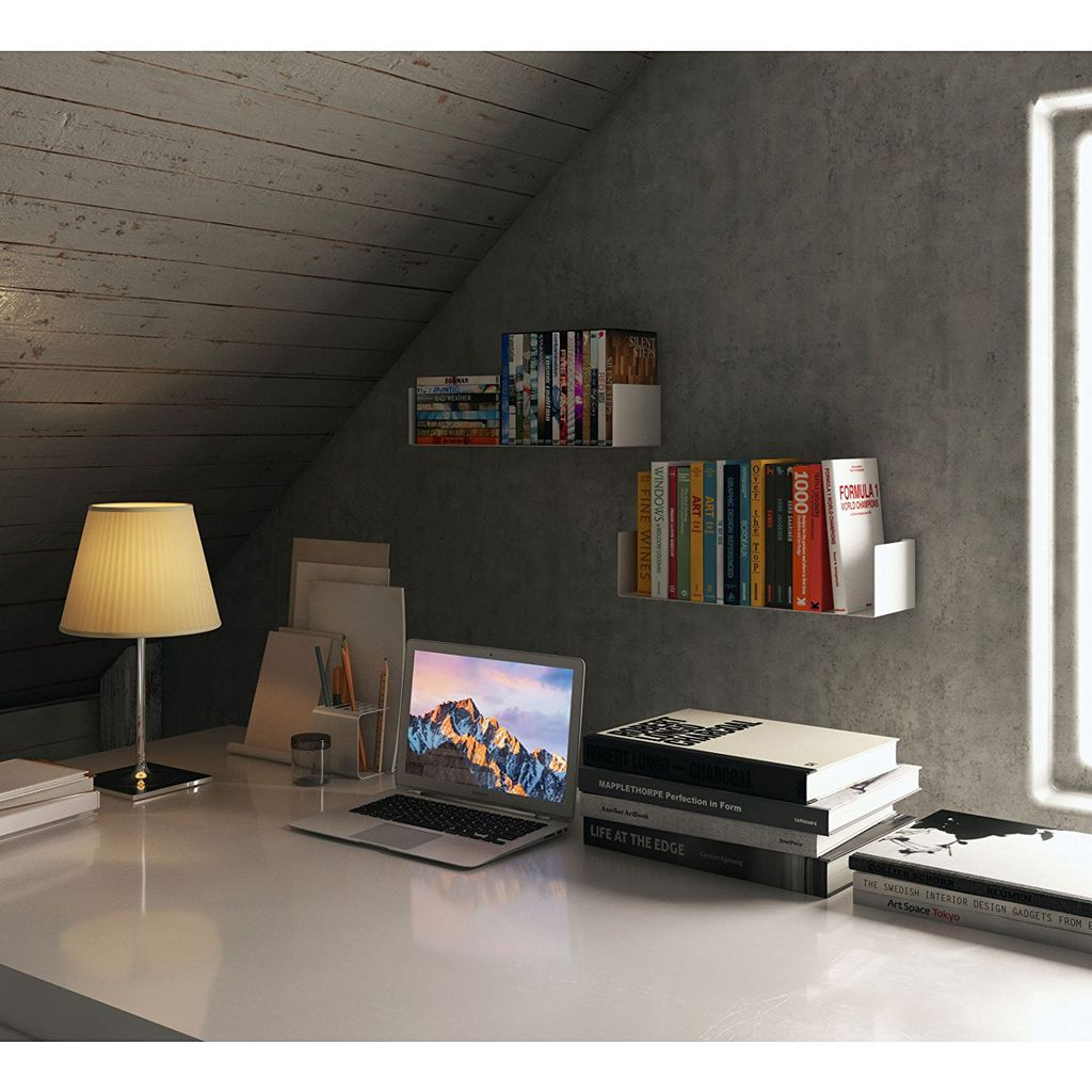 Your Workspace Needs This Compact Shelf