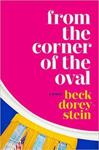 from the corner of the oval cover