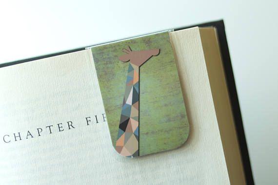 Giraffe magnetic bookmark