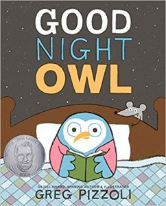 good night owl by greg pizzoli book cover