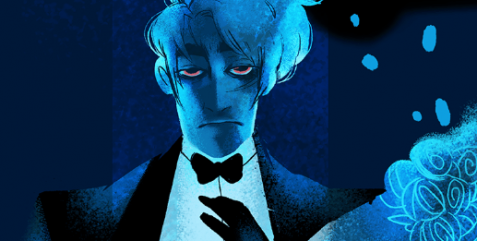 Hades from Lore Olympus, created by Rachel Smythe. | 5 Reasons to Love and Support LORE OLYMPUS