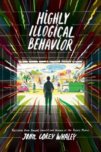 highly illogical behavior by john corey whaley book cover ya books about social anxiety