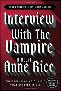 interview with the vampire anne rice southern historical novels cover