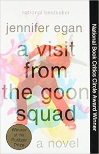 jennifer egan visit from the goon squad cover books about music