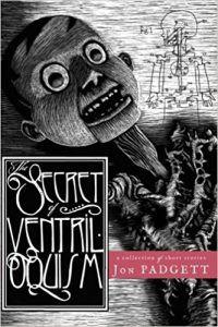 jon padgett the secret of ventriloquism cover psychological horror books