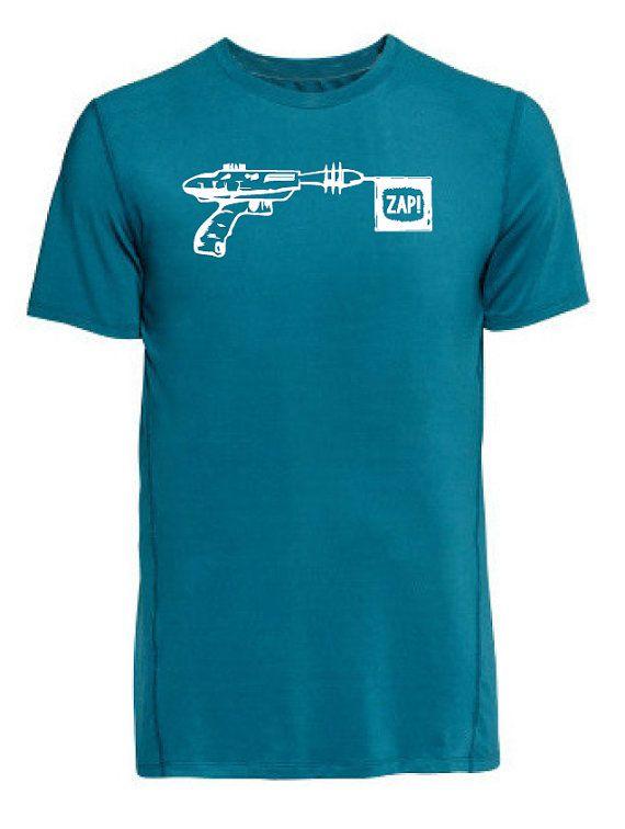 laser gun t-shirt