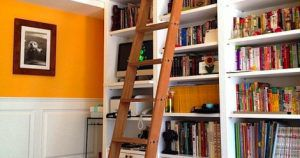 library ladder ideas feature