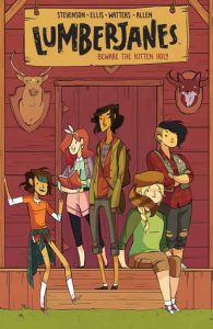 Lumberjanes from 12 Kid-Friendly LGBTQ Comics | bookriot.com