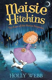 The Mysteries of Maisie Hitchins series by Holly Webb, Illustrated by Marion Lindsay