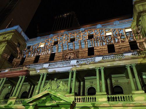 vivid sydney 2018 tribute to may gibbs   Vivid Sydney 2018 / Photo by A Cahill