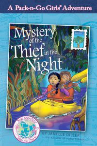 Mystery of the Thief in the Night (Pack-n-Go Girls, Mexico #1) by Janelle Diller