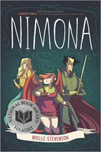 Nimona from 12 Kid-Friendly LGBTQ Comics | bookriot.com