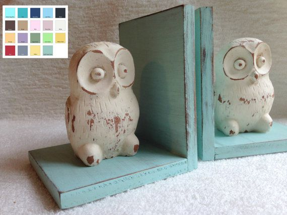 owl bookend figurines