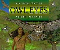 Owl Eyes by Frieda Gates book cover