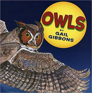 Owls by Gail Gibbons Book Cover