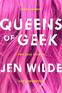 queens of geek by jen wild book cover ya books about social anxiety