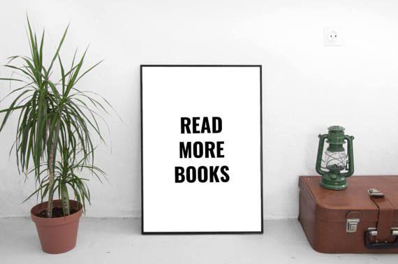 Read More Books Book Wall Art