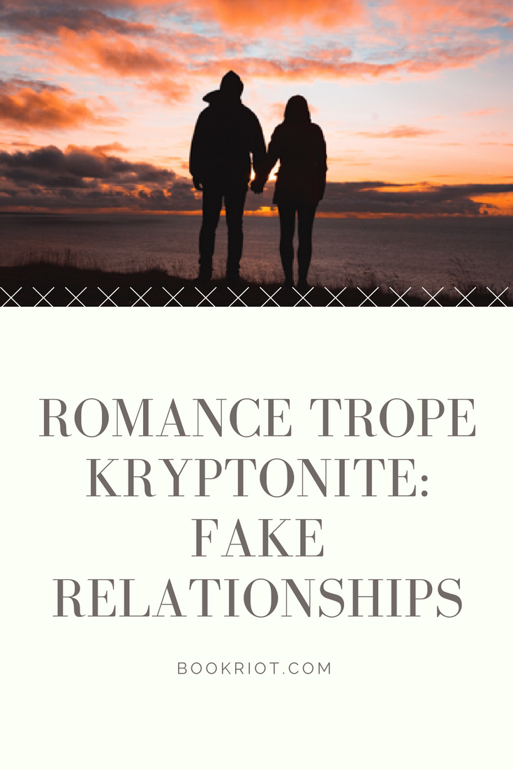 Romance Trope: Fake Relationships