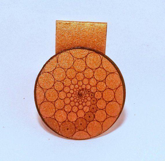 Sacred Geometry Magnetic Bookmark