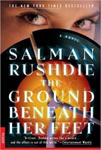salman rushdie the ground beneath her feet cover books about music