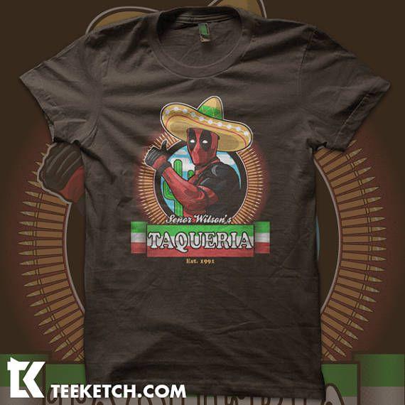 deadpool taqueria tshirt