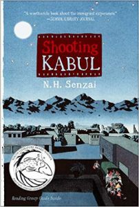 shooting kabul by nh senzai book cover