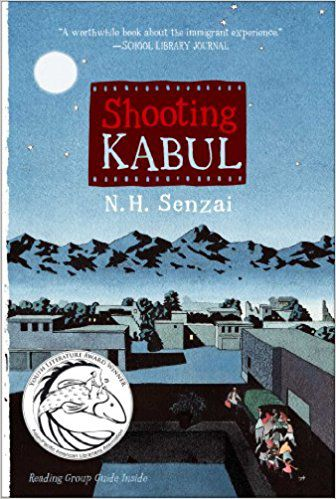 shooting kabul by nh senzai cover | middle grade books about the immigrant experience