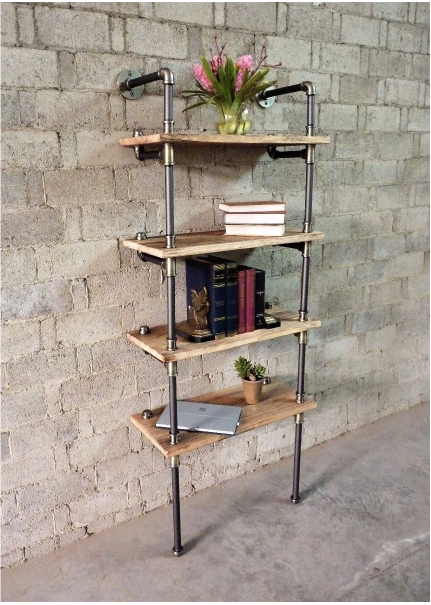 Space Saving Bookshelves From Overstock