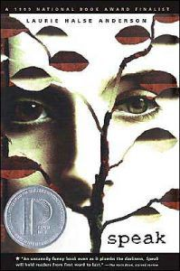 speak by laurie halse anderson book cover